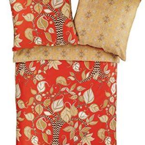 Hübsche Bettwäsche aus Baumwolle - 155x220 von Zucchi