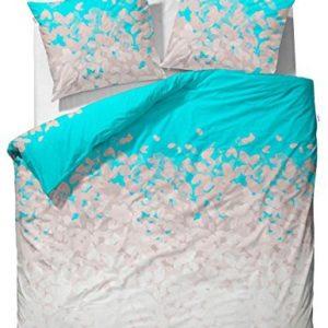 Schöne Bettwäsche aus Baumwolle - blau 135x200 von ESPRIT