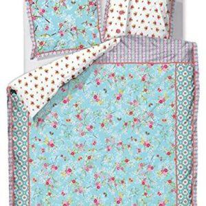 Hübsche Bettwäsche aus Baumwolle - blau 135x200 von PiP Studio