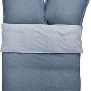 Schöne Bettwäsche aus Baumwolle - blau 135x200 von s.Oliver