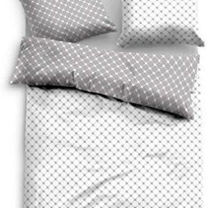 Traumhafte Bettwäsche aus Baumwolle - blau 155x220 von TOM TAILOR