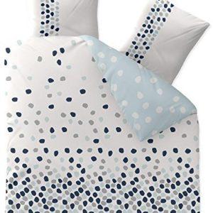 Traumhafte Bettwäsche aus Baumwolle - blau 200x200 von CelinaTex