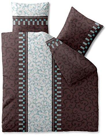 sch ne bettw sche aus baumwolle braun 200x220 von. Black Bedroom Furniture Sets. Home Design Ideas