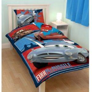Kuschelige Bettwäsche aus Baumwolle - Disney blau 135x200 von Disney