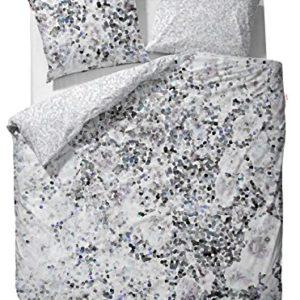 Schöne Bettwäsche aus Baumwolle - grau 135x200 von ESPRIT