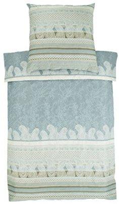 Kuschelige Bettwäsche aus Baumwolle - grau 155x220 von Bassetti