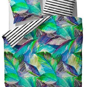 Traumhafte Bettwäsche aus Baumwolle - grün 135x200 von ESPRIT