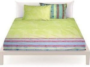 Traumhafte Bettwäsche aus Baumwolle - grün 155x220 von Bassetti