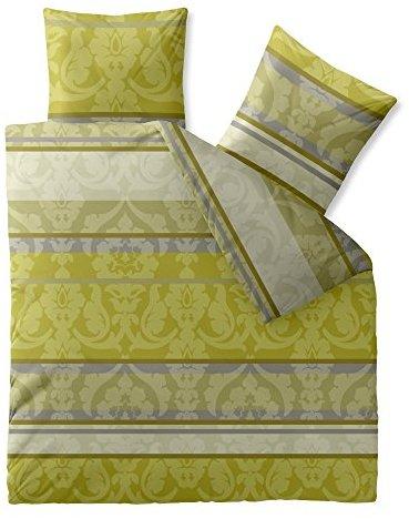 traumhafte bettw sche aus baumwolle gr n 200x220 von. Black Bedroom Furniture Sets. Home Design Ideas