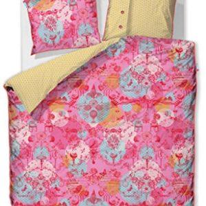 Traumhafte Bettwäsche aus Baumwolle - rosa 135x200 von PiP Studio