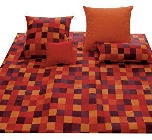 Kuschelige Bettwäsche aus Baumwolle - rot 135x200 von Joop!