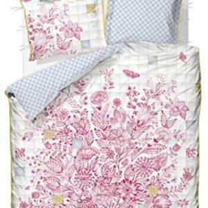 Kuschelige Bettwäsche aus Baumwolle - rot 135x200 von PiP