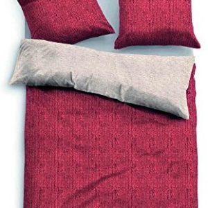 Hübsche Bettwäsche aus Baumwolle - rot 135x200 von TOM TAILOR