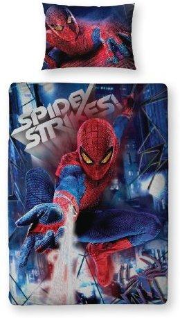 Traumhafte Bettwäsche aus Baumwolle - Spiderman 135x200 von Marvel