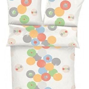 Hübsche Bettwäsche aus Baumwolle - weiß 135x200 von s.Oliver