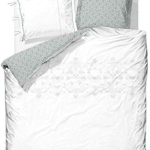 Schöne Bettwäsche aus Baumwolle - weiß 155x220 von PiP