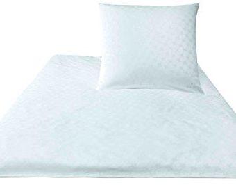 Traumhafte Bettwäsche aus Baumwolle - weiß 200x200 von Joop - Bettwäsche und mehr
