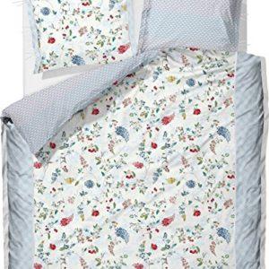 Traumhafte Bettwäsche aus Baumwolle - weiß 200x200 von Pip