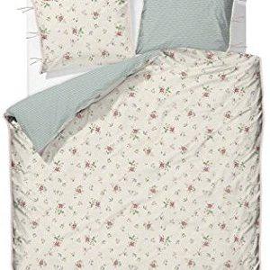 Kuschelige Bettwäsche aus Baumwolle - weiß 200x200 von PiP