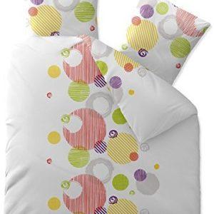 Traumhafte Bettwäsche aus Baumwolle - weiß 200x220 von CelinaTex