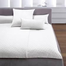Traumhafte Bettwäsche aus Baumwolle - weiß 200x220 von Joop - Bettwäsche und mehr