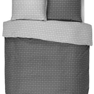 Kuschelige Bettwäsche aus Baumwollsatin - 135x200 von ESPRIT