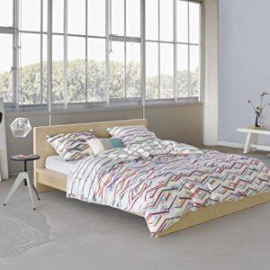 Schöne Bettwäsche aus Baumwollsatin - 200x200 von ESPRIT