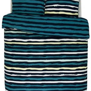 Kuschelige Bettwäsche - grün 135x200 von ESPRIT