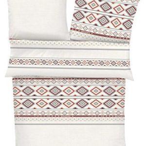 Schöne Bettwäsche aus Biber - 155x220 von s.Oliver