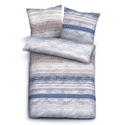 h bsche bettw sche aus biber blau 135x200 von biberna. Black Bedroom Furniture Sets. Home Design Ideas