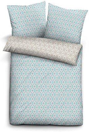 kuschelige bettw sche aus biber blau 135x200 von biberna bettw sche. Black Bedroom Furniture Sets. Home Design Ideas
