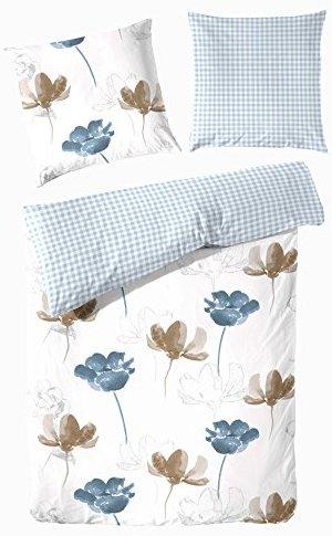 traumhafte bettw sche aus biber blau 135x200 von hahn bettw sche. Black Bedroom Furniture Sets. Home Design Ideas