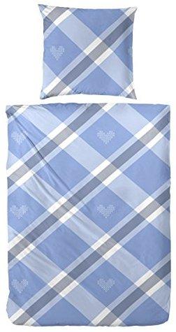 h bsche bettw sche aus biber blau 135x200 von hahn bettw sche. Black Bedroom Furniture Sets. Home Design Ideas