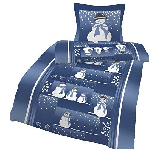 h bsche bettw sche aus biber blau 135x200 von ido. Black Bedroom Furniture Sets. Home Design Ideas