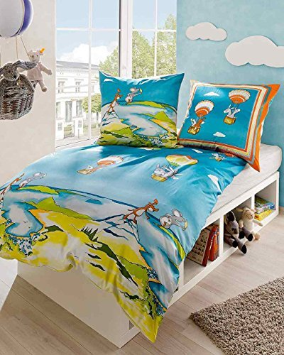 sch ne bettw sche aus biber blau 135x200 von kaeppel bettw sche. Black Bedroom Furniture Sets. Home Design Ideas