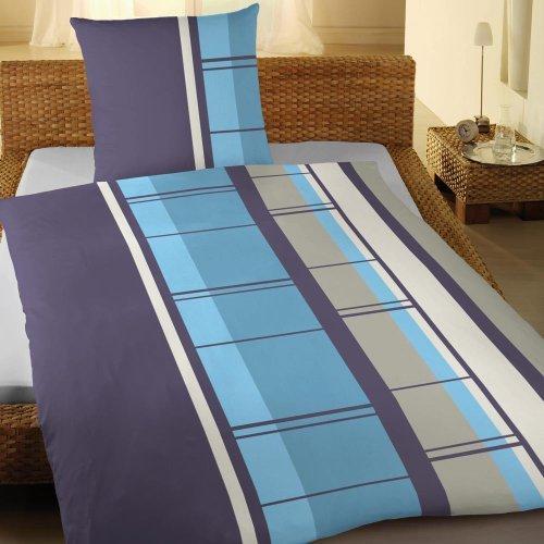 kuschelige bettw sche aus biber blau 135x200 von magita. Black Bedroom Furniture Sets. Home Design Ideas