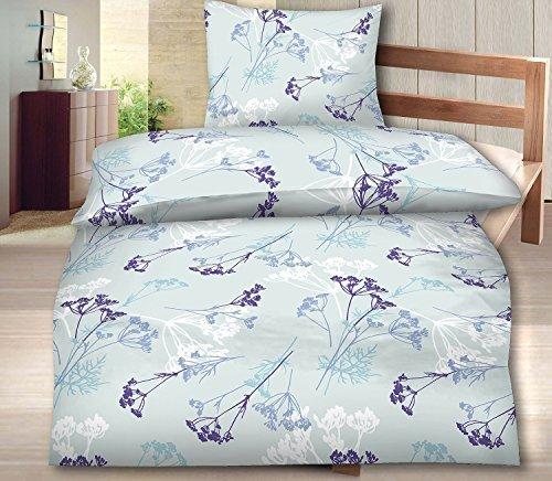 traumhafte bettw sche aus biber blau 135x200 von. Black Bedroom Furniture Sets. Home Design Ideas