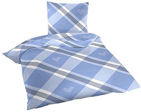 kuschelige bettw sche aus biber blau 135x200 von wometo. Black Bedroom Furniture Sets. Home Design Ideas