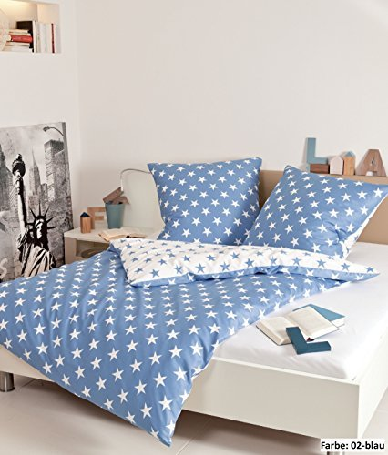 kuschelige bettw sche aus biber blau 155x220 von janine design bettw sche. Black Bedroom Furniture Sets. Home Design Ideas