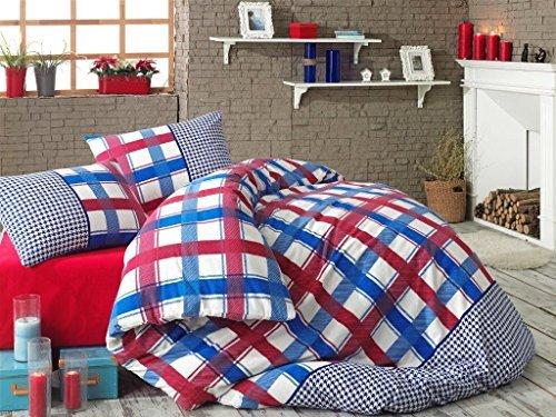 sch ne bettw sche aus biber blau 155x220 von my palace. Black Bedroom Furniture Sets. Home Design Ideas