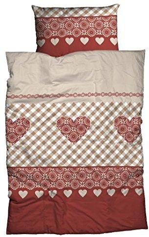 traumhafte bettw sche aus biber braun 135x200 von casatex bettw sche. Black Bedroom Furniture Sets. Home Design Ideas