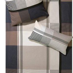 Kuschelige Bettwäsche aus Biber - braun 135x200 von Erwin Müller