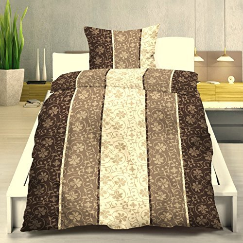 h bsche bettw sche aus biber braun 135x200 von. Black Bedroom Furniture Sets. Home Design Ideas