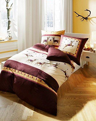 h bsche bettw sche aus biber braun 135x200 von kaeppel. Black Bedroom Furniture Sets. Home Design Ideas