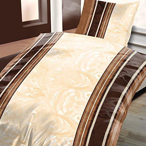 sch ne bettw sche aus biber braun 135x200 von schlummerland bettw sche. Black Bedroom Furniture Sets. Home Design Ideas