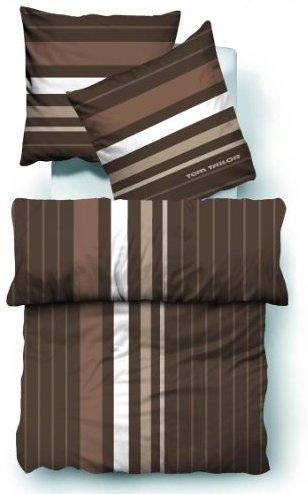 kuschelige bettw sche aus biber braun 135x200 von tom tailor bettw sche. Black Bedroom Furniture Sets. Home Design Ideas