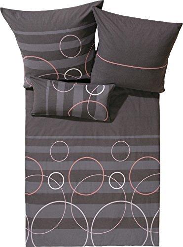 traumhafte bettw sche aus biber braun 155x220 von erwin. Black Bedroom Furniture Sets. Home Design Ideas