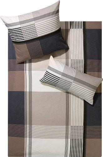 traumhafte bettw sche aus biber braun 155x220 von erwin m ller bettw sche. Black Bedroom Furniture Sets. Home Design Ideas