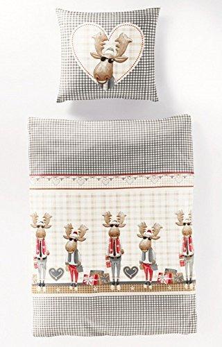 h bsche bettw sche aus biber braun 200x200 von bierbaum. Black Bedroom Furniture Sets. Home Design Ideas
