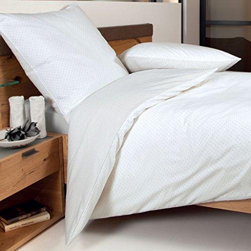 sch ne bettw sche aus biber grau 135x200 von janine bettw sche. Black Bedroom Furniture Sets. Home Design Ideas